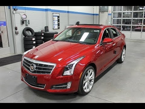 2014 Cadillac Ats 4 Turbo Performance All Wheel Drive Youtube