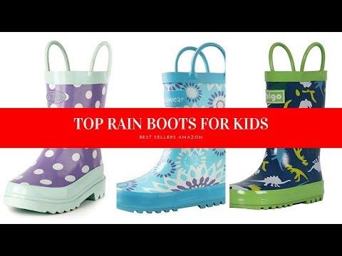 ✔️ TOP 10 RAIN BOOTS FOR KIDS �� Amazon 2019
