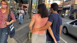 Picking Up Girls in Colombian Street Tour of my hood Envigado Medellin Colombia
