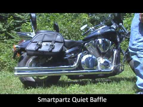 Cobra Speedster Exhausts Baffle options, Honda VTX