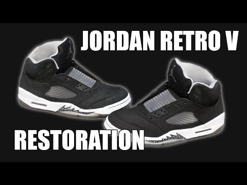 Jordan Retro V Oreo Restoration! ✔