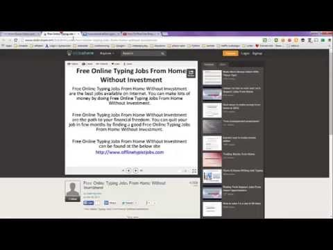 Typing Jobs From Home without Investment - YouTube on