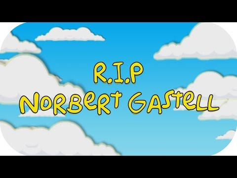 R.I.P Norbert Gastell (26.11.2015)
