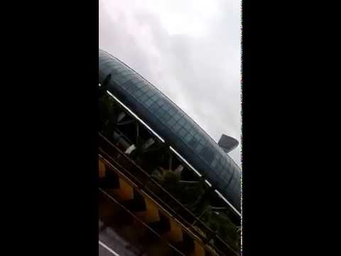 Mumbai vile parle AND SANTACRUZ airport in rain