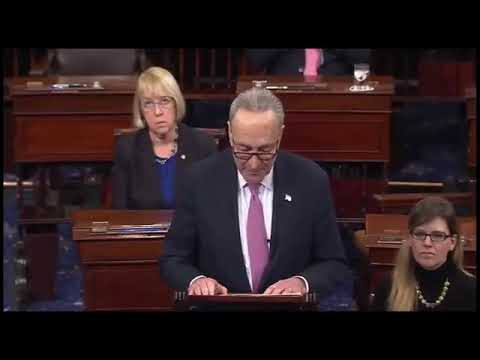 Mitch McConnell & Chuck Schumer Spar Over Resolution To DACA & Budget