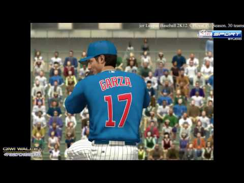 Washington Nationals - Chicago Cubs. MLB2K12