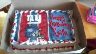 My birthday cake , Go Giants!!