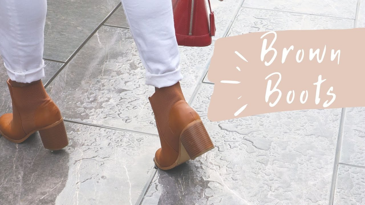 How To Style Brown Boots| Winter Edition | #stylingvideo