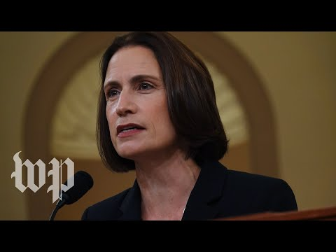 Fiona Hill's most striking impeachment testimony moments