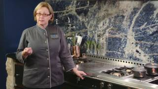 La Cornue Chateau Cooktop - Cooking Tips