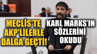 Barış Atay Meclis'te AKP'lilerle dalga geçti!