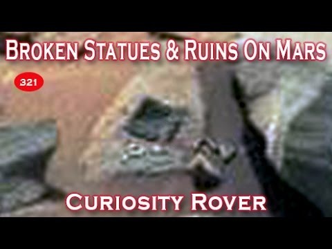 Destroyed Stonework With Carvings Suggest Prior Civilzation On Mars?