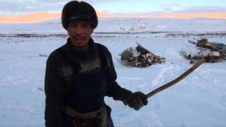 Снеговыбивалка  чукотских кочевников
