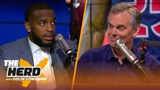 Kareem Jackson lists the best WRs in the league, talks facing Brady, Luck & more | NFL | THE HERD