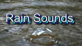"""Rain"" 30mins of Raindrops! Natural Sounds  ""Sleep Video"""