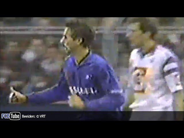 1991-1992 - Jupiler Pro League - 22. Club Brugge - RSC Anderlecht 2-0