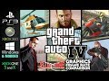 Grand Theft Auto IV | Side by Side | PS3 Xbox 360 Windows Xbox One X | Graphics Comparison