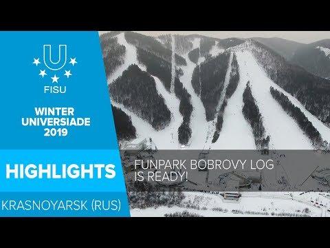 Funpark Bobrovy Log,❄️ I 29th Winter Universiade 2019 in Krasnoyarsk.