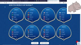FIFA World Cup 2018 - Group Winners Prediction Method
