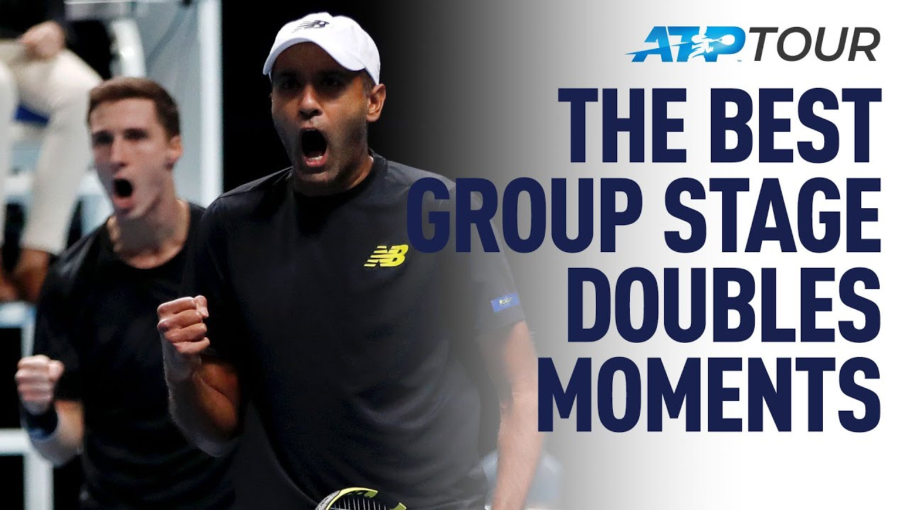 NITTO ATP FINALS | Epic Doubles Points & Bloopers!