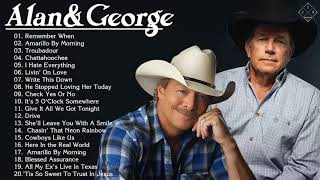 Alan Jackson, George Strait Greatest Hits   Best Classic Country Songs