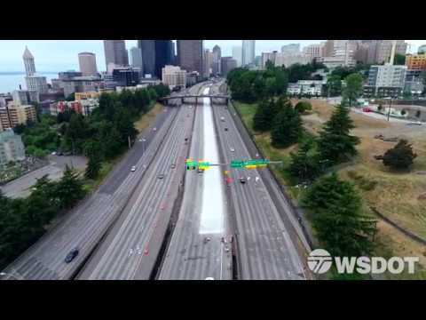 What got done during Seattle's full closure of northbound I-5 June 1-4