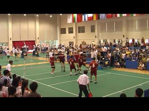Shuttlecock - World Cup - China 2010 - Final - Mens Team - 1st Set - 2/2