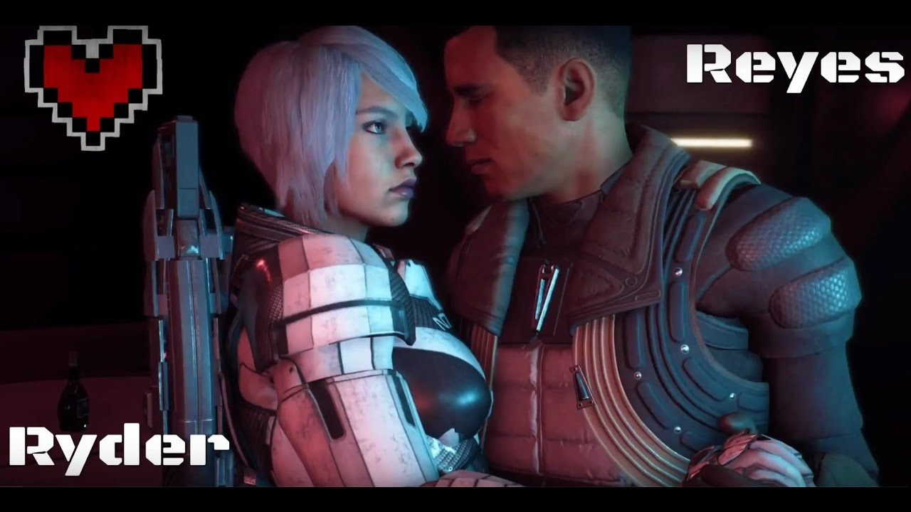 Mass Effect Andromeda Romance Avec Reyes Fr Complete