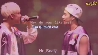 [VIETSUB/FMV] JackBam Do you love me?