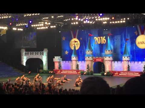 University of Tennessee Dance Team Division 1A Jazz Nationals 2016