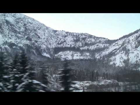 "Train Travel Norway ~ ""White"" / ""l'Aurore""  (Zbigniew Preisner)"