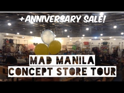 VLOG: Mad Manila Concept Store Anniversary SALE and TOUR