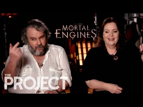 Peter Jackson, Christian Rivers and Philippa Boyens talk Mortal Engines | Newshub
