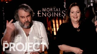 Peter Jackson, Christian Rivers And Philippa Boyens Talk Mortal Engines | The Project NZ