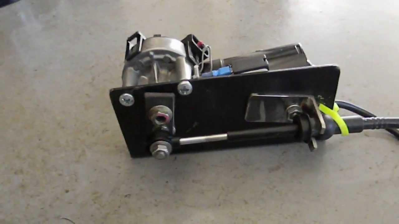 Release Actuator Heavy Duty Wiper Motor Release