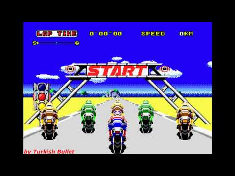Super Hang-On (Sega Mega Drive / Genesis) - (Longplay - Original Mode)