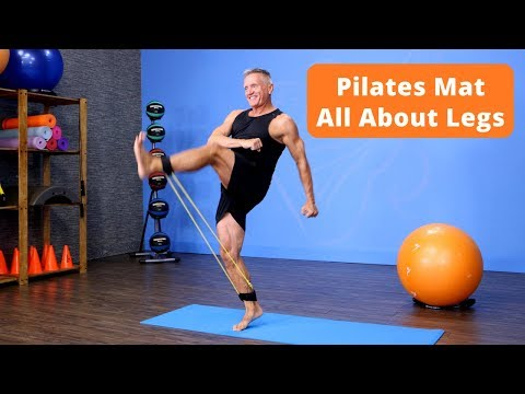 Pilates Mat All About Legs Workout Preview