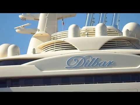 Mega Yacht Ekstra Mewah Dilbar