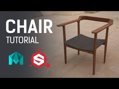 Chair  ~ 3D Game Asset Tutorial
