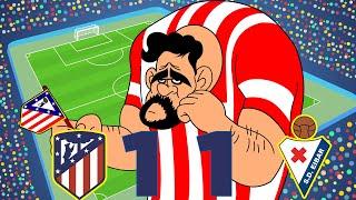 Atlético Madrid vs Eibar (1-1) Resumen Highlights La Liga 15/09/2018