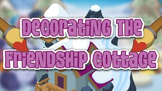 Animal Jam: DECORATING NEW FRIENDSHIP COTTAGE DEN!