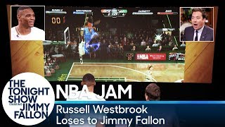 Russell Westbrook Loses to Jimmy Fallon at