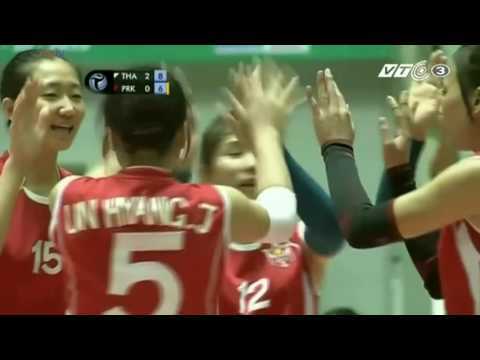 Bangkok Glass Vs April 25 l 2015 Asian Women's Club Volleyball Championship l Quarterfinals l Set 3