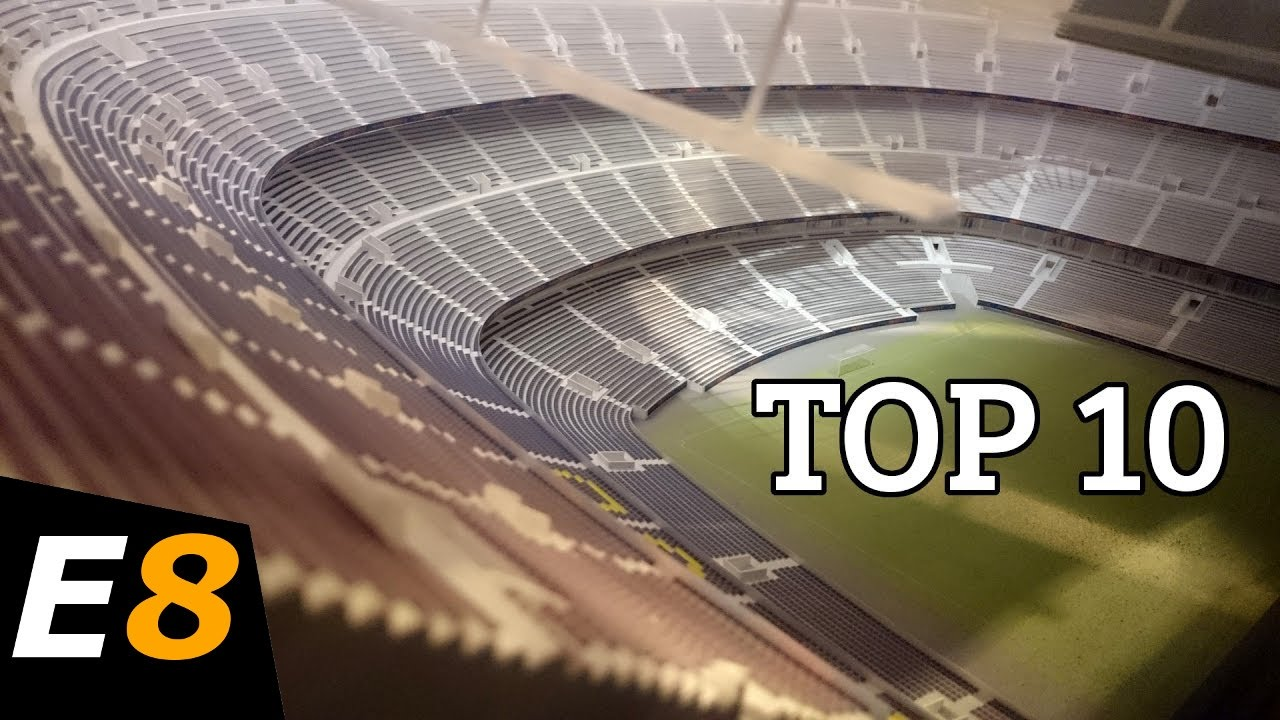10 World S Largest Football Soccer Stadiums Youtube