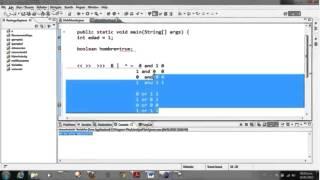 Java Tutorial 8 - Operadores a nivel bits