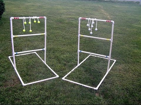 How to build a ladder golf outdoor game quick easy youtube how to build a ladder golf outdoor game quick easy solutioingenieria Images
