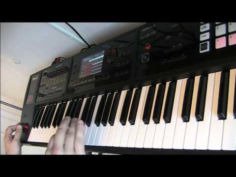 Roland FA-06 Default Studio Sets Demo