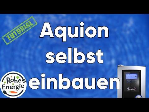 Aquion - So einfach wird der Wasserfilter eingebaut!