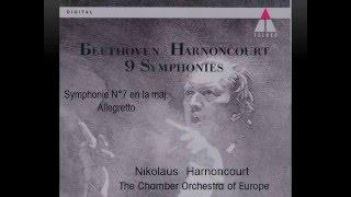 Beethoven, Sinfonia N°7 in la maggiore, allegretto