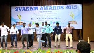 Group Dance by Svasam Folks in Svasam Awards 2015 (PART-VIII)